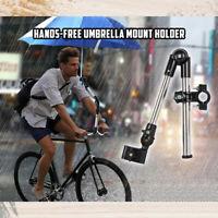 Hands-Free Umbrella Mount Holder Bicycle Stroller Wheelchair Umbrella Stand