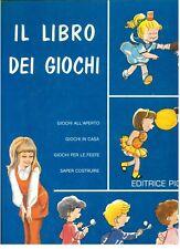 VITALE MIRELLA IL LIBRO DEI GIOCHI ED. PICCOLI ANNI '70 ILL. FRANCESCO BERNINI