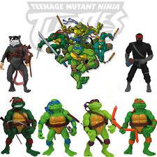 6pcs TMNT Teenage Mutant Ninja Turtles Action Figures Classic Collection Toy Set