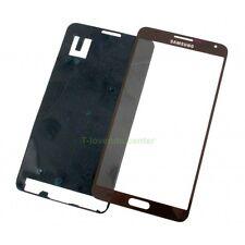 Cristal pantalla para Samsung Galaxy Note 3 N9000 gris Front Glass + adhesivo ne