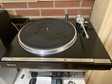 Sony PS-X55 Fully Automatic Direct Drive Turntable (NEEDLE NOT INCLUDED)
