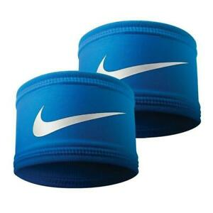 2-pk Nike Speed Performance Armbands Blue OSFM 81512 FAST SHIP! D33