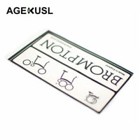 AGEKUSL Brompton Bike Frame Sticker Decal Folding Bicycle Frame Sticker 2013