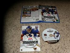 EA Sports Madden 2005 Playstation 2 PS2 Pal Version Game