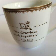 Downtown Abbey white Tea cup  Coffee Mug Perfect Christmas gift