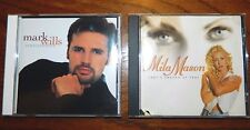Lot Of 2 Country CD's Mark Wills - Permanently, Mila Mason - That's Enough Of Th