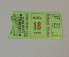 1973 Baltimore Orioles Chicago White Sox Baseball Ticket Stub Mike Cueller SO