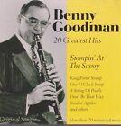 Benny Goodman 20 Greatest Hits Stompin`The Savoy CD Album