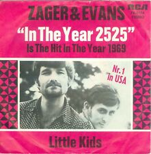 """ZAGER & EVANS - IN THE YEAR 2525 (GERMAN RCA 74-0174) 7""""PS 1969"""
