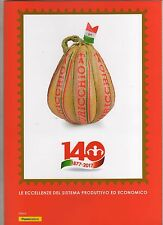 folder postale 2017 -  auricchio - 1877 - 1917 - le eccellneze italiane