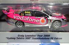 1:43 #888 Lowndes 2009 Sydney Telstra 500 Vodafone FG Falcon Classic Carl.288-10