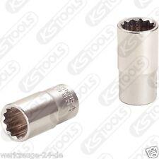 """KS TOOLS 1/4"""" toma de doce lados, 10mm 917.1469"""