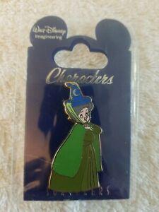 WDI Disney pin FAUNA FAIRY Characters in Sorcerer Hat LE 200 Sleeping Beauty HTF