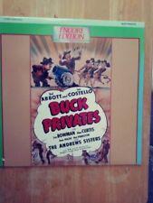 Buck Privates (Laserdisc)