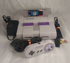 Super Nintendo SNES Console System w/ Super Mario World SNS-001 1 Controller