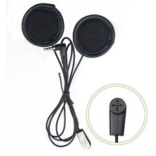 Soft Earphone For 1200m BT Intercom Motorcycle Helmet Headset Mic/Speaker V6/V4