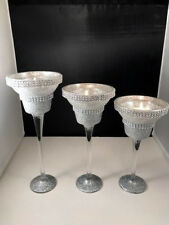 Glitter Candle Holder Centerpieces