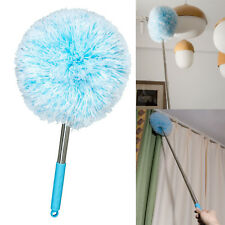 48 In Microfiber Duster Cleaning Spider Web Cobweb Washable Reusable Telescoping