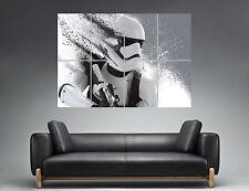 Stormtrooper Star Wars News Digital  Wall Poster Grand format A0  Print