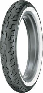 Dunlop Harley-Davidson D401 100/90-19 Bias Front Tire WWW Wide White Wall