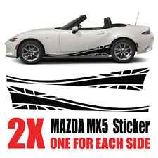 Mazda MX5 Graphics Eunos Roadster mk1 mk2  stripes Decals Stickers mz5