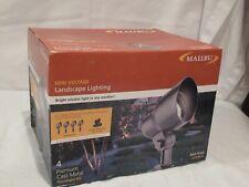 New listing Malibu Low Voltage Metal Floodlight Kit Cl90004T 121 Watt Power Pack Transformer