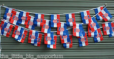 Croatian 30 Flags 9 Metres Long Flag Banner String Bunting Croatia Party