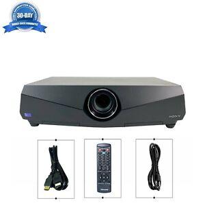 Sony VPL-FX40 3LCD Projector Multipurpose 4000 Lumens HDMI HD 1080p w/Remote