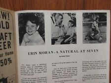 Nov 9-1968 Pen Argyl Pa.TV Time and Channel Mag(ERIN MORAN/THE MERV GRIFFIN SHOW