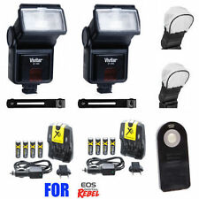 UNIVERSAL SLAVE FLASH KIT FOR CANON EOS REBEL T6I T6S T5I T3I BY VIVITAR PHOTO