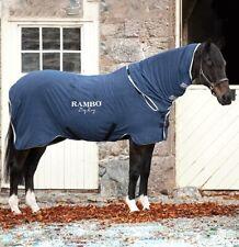 Rambo Horseware Dry Rug Supreme Navy Blue Cooler Wicking Medium 6'0 6'3 6'6