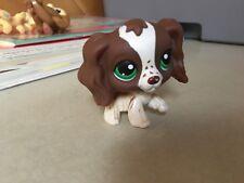 Littlest Pet Shop Collectible Cocker Spaniel Freckles # 156 Dog