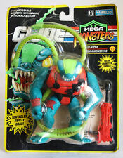 VINTAGE 1993 G.I.JOE MEGA MONSTERS BIO VIPER COBRA HASBRO NEW MOSC !