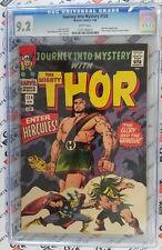 Journey Into Mystery #124 CGC 9.2 Story: Stan Lee Art:Jack Kirby HIGH GRADE!