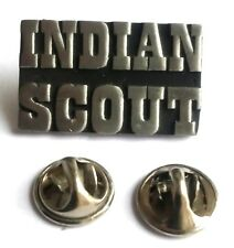 Indian Scout Slogan Handcrafted English Pewter Lapel Pin Badge Last Few