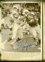 Oj Simpson Psa Dna Coa Autograph 8x10 Photo  Hand Signed Authentic