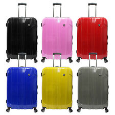 """Sedona 29"""" Large Polycarbonate Hardside Luggage Expandable Spinner Suitcase Bag"""