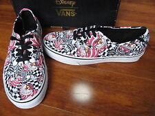 NEW VANS DISNEY Authentic Skate Shoes MENS Size 11 CHESHIRE CAT/BLACK