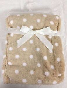 """Two Piece Security Baby Blanket 30"""" x 36"""" & 14"""" x 14"""" Lion Print Taupe"""