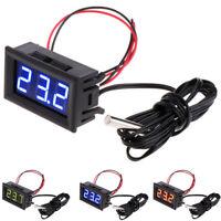 New 12V LED Display Digital Temperature Meter -50°C~+ 110°C Thermometer Sensor