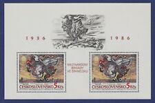 Ae66* bloc Tchécoslovaquie 1936 ->1986 tableaux  neuf** MNH TBE