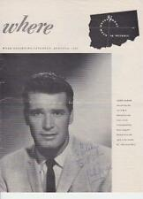 James Garner signed magazine article