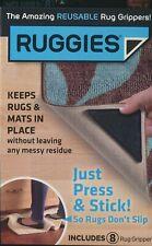 Silicone Ruggies Rug Carpet Mat Grippers Corners Pad Anti Skid Washable Cushion