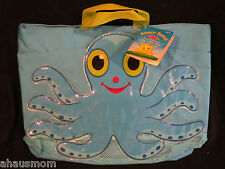 MELISSA AND DOUG BEACH TOTE BAG FLEX OCTOPUS BRAND NEW WITH TAGS