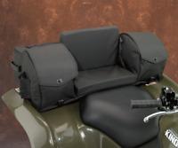 Moose Utility Ridgetop Rear ATV QUAD 4WHEELER Storage Rack Bag Black 3505-0214