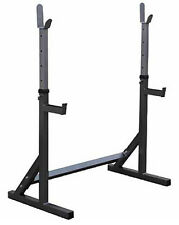 NEW Bodworx L314 Adjustable Bench Press Squat Rack Home Gym Fitness Workout