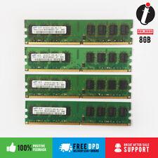 8GB 4x2GB DDR2 PC2-6400 6400U DDR2-800 MHZ MEMORY DIMM PC DESKTOP RAM 240 PIN