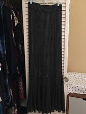 Stone Cold Fox Sheer Maxi Skirt Xs/S