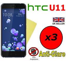3x HQ MATTE ANTI GLARE SCREEN PROTECTOR COVER FILMS GUARD FOR HTC U 11 HTC U11