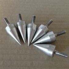 Universal Silver Motorcycle Spike Bolts for Windscreen Fairings License Plate